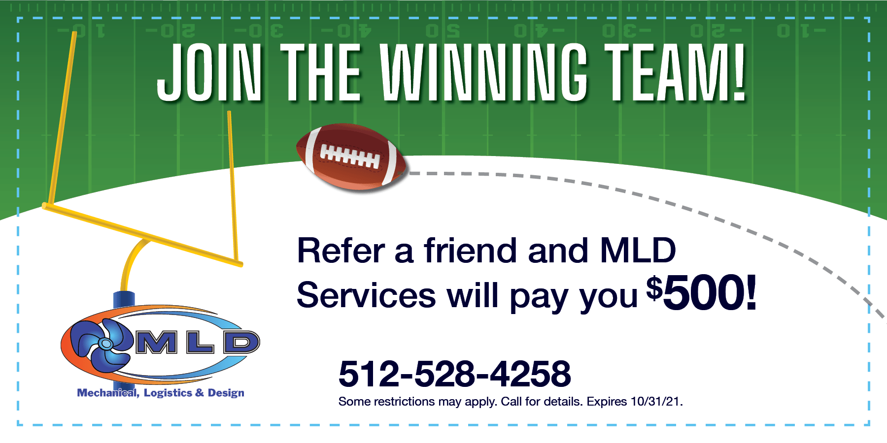 Football Referral Coupon