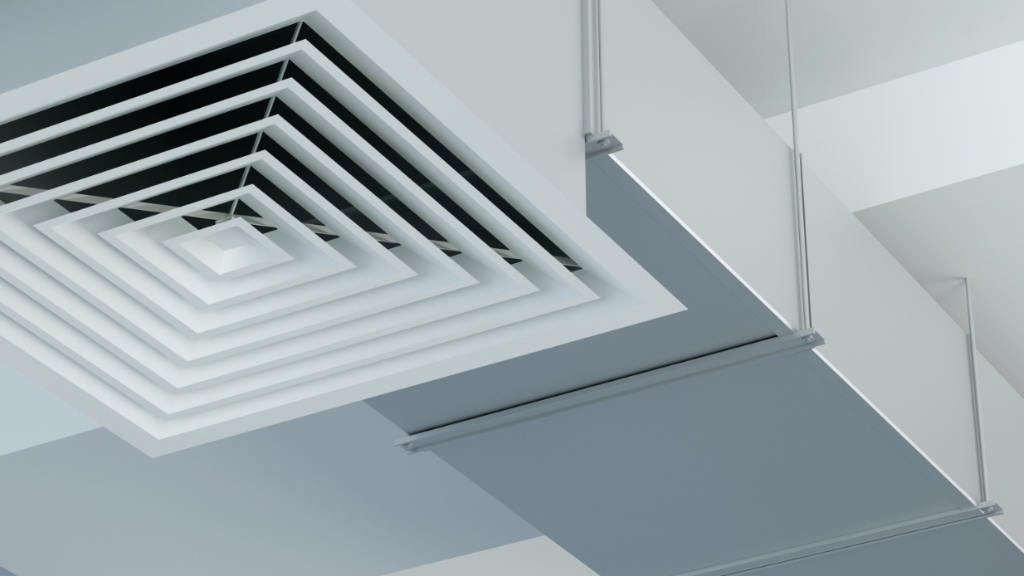 Air ducts service.